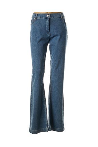 Jeans bootcut bleu CAROLINE BISS pour femme