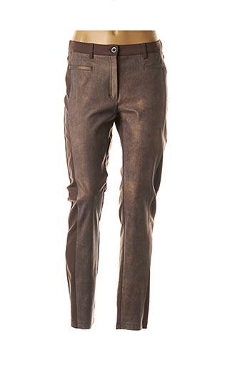 Pantalon casual marron RABE pour femme