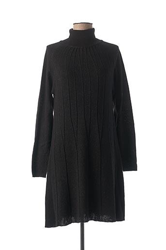 Robe pull noir COP COPINE pour femme