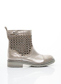 Bottines/Boots gris FRU.IT pour femme