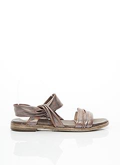 Sandales/Nu pieds gris FRU.IT pour femme