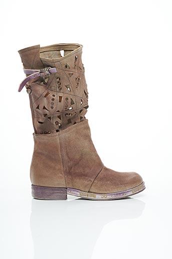Bottes violet A.S.98 pour femme