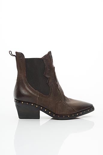 Bottines/Boots marron A.S.98 pour femme