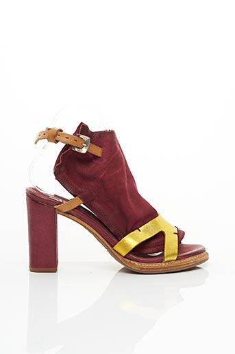 Sandales/Nu pieds rouge A.S.98 pour femme