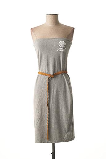Robe courte gris FRANKLIN MARSHALL pour femme