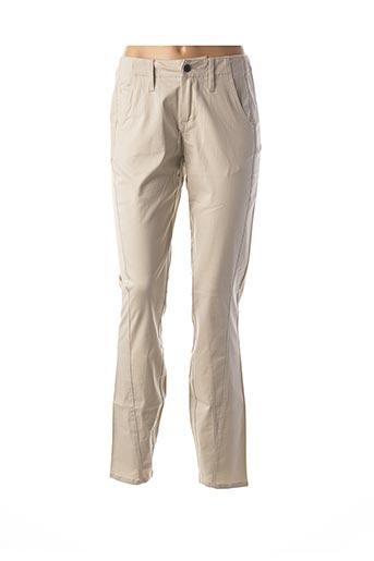 Pantalon casual beige FIRETRAP pour femme