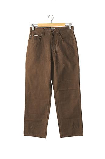 Pantalon casual marron COLUMBIA pour homme