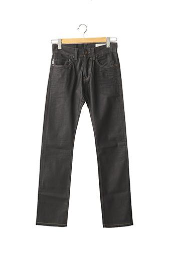 Pantalon casual noir CHEFDEVILLE pour homme