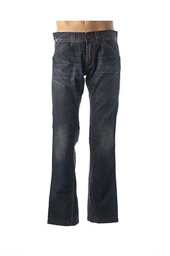 Jeans coupe droite bleu ENERGIE pour femme