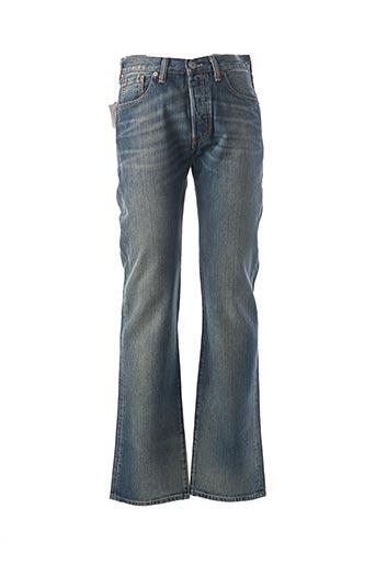 Jeans coupe droite bleu LEVIS pour homme