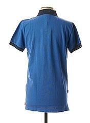 Polo manches courtes bleu FRANKLIN MARSHALL pour homme seconde vue