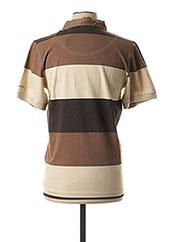 Polo manches courtes marron COLUMBIA pour homme seconde vue