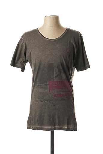 T-shirt manches courtes gris DIESEL pour homme