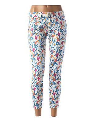 Pantalon casual blanc SALSA pour femme