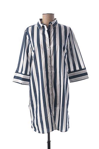 Robe courte bleu LE BOUDOIR D'EDOUARD pour femme