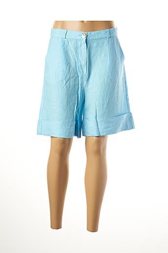 Bermuda bleu LE BOUDOIR D'EDOUARD pour femme