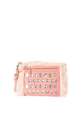 Pochette rose L'(AE)TELIER CAESARS pour femme