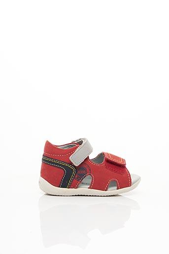 Sandales/Nu pieds rouge KICKERS pour garçon