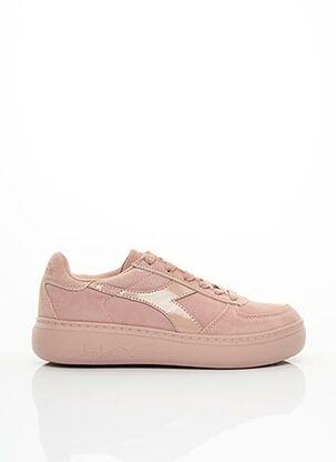 Baskets rose DIADORA pour femme