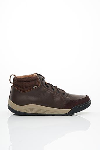 Baskets marron CLARKS pour homme