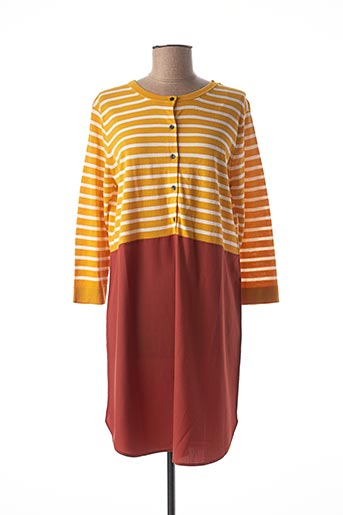 Robe courte jaune MEXX pour femme