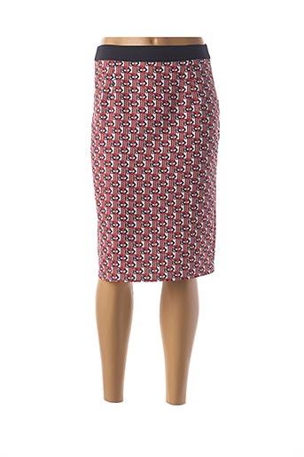 Jupe mi-longue rouge MEXX pour femme