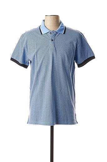 Polo manches courtes bleu MEXX pour homme