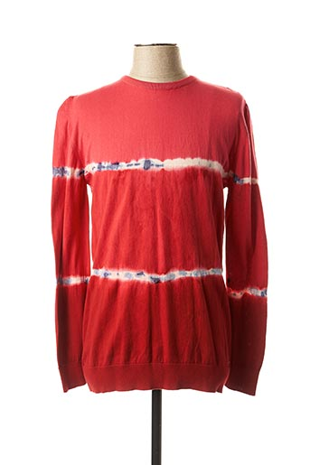 Pull col rond rouge MEXX pour homme