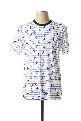 T-shirt manches courtes bleu MEXX pour homme