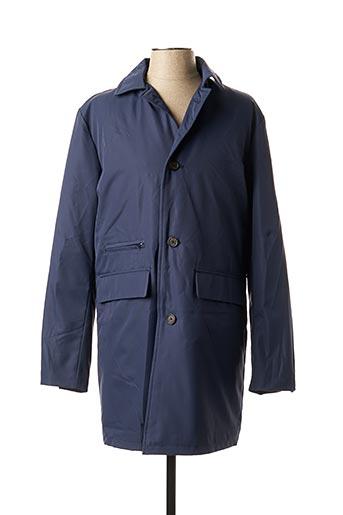 Manteau long bleu MEXX pour homme