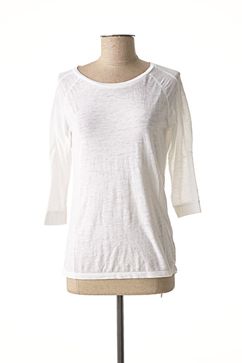 T-shirt manches longues blanc AMERICAN OUTFITTERS pour femme