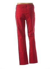 Jeans coupe slim rouge TOMMY HILFIGER pour femme seconde vue