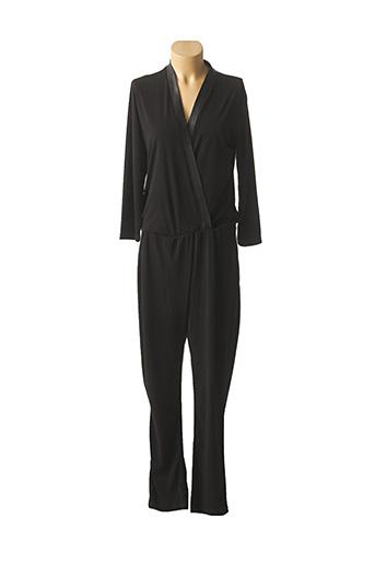 Combi-pantalon noir HOTEL PARTICULIER pour femme