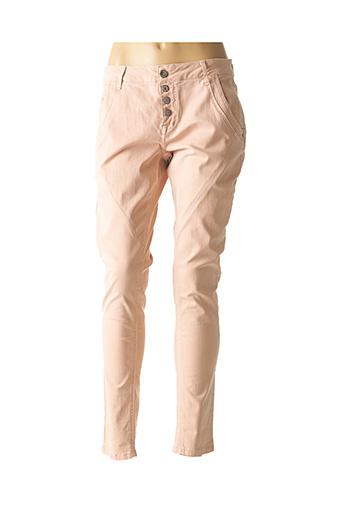 Pantalon casual rose CREAM pour femme