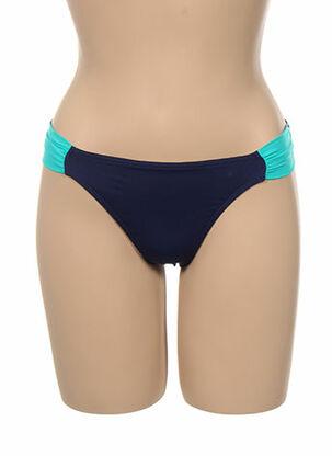 Bas de maillot de bain bleu KIWI pour femme