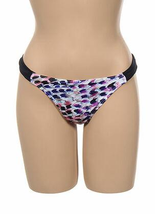 Bas de maillot de bain violet KIWI pour femme