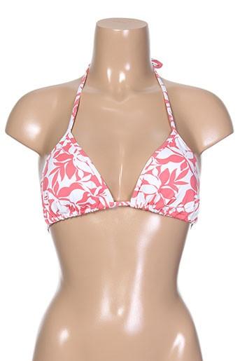 Haut de maillot de bain rose KIWI pour femme