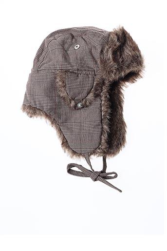 Bonnet beige SIXTY pour unisexe