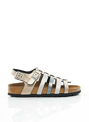 Sandales/Nu pieds gris BETULA pour fille