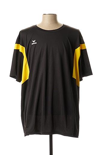 T-shirt manches courtes noir ERIMA pour homme