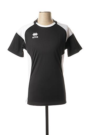 T-shirt manches courtes noir ERREA pour homme
