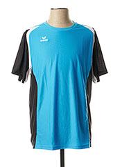 T-shirt manches courtes bleu ERIMA pour homme seconde vue
