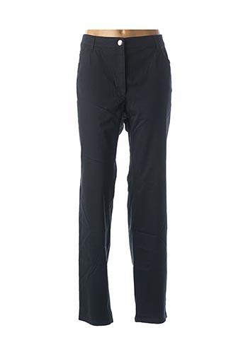 Pantalon casual bleu ZERRES pour femme