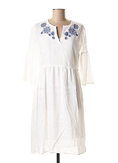 Robe mi-longue blanc PENNYBLACK pour femme