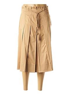 Jupe mi-longue beige PENNYBLACK pour femme