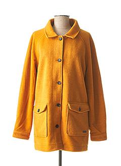 Manteau court jaune ROXY pour femme