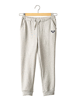 Jogging gris ROXY GIRL pour fille