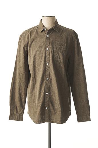 Chemise manches longues vert LEE COOPER pour homme