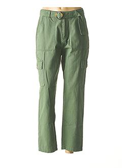 Pantalon casual vert ROXY pour femme