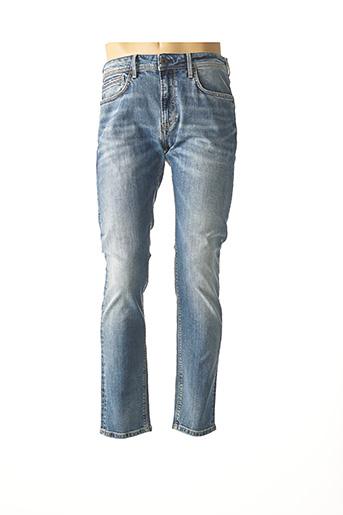 Jeans coupe slim bleu PEPE JEANS pour homme